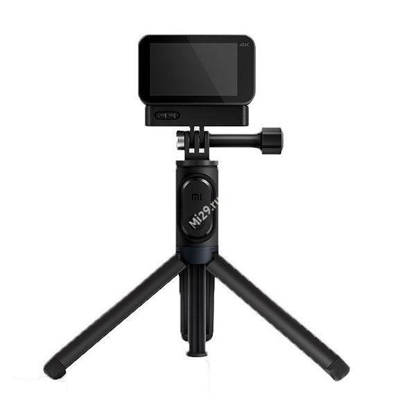 Монопод-штатив Xiaomi Selfie Stick Bluetooth Tripod for Mijia/YI Camera черный
