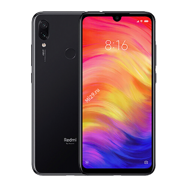 Смартфон Xiaomi Redmi Note 7 3/32Gb черный