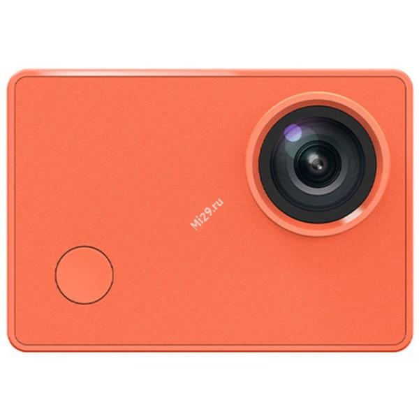 Видеокамера Xiaomi Mijia Seabird 4K motion Action Camera оранжевая