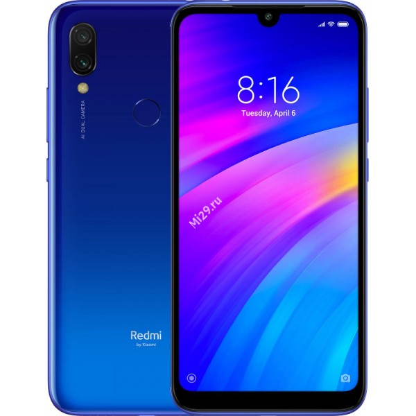 Смартфон Xiaomi Redmi 7 3/64Gb синий