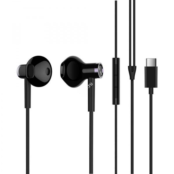 Наушники Mi Dual Driver Earphones (Type-C) черные