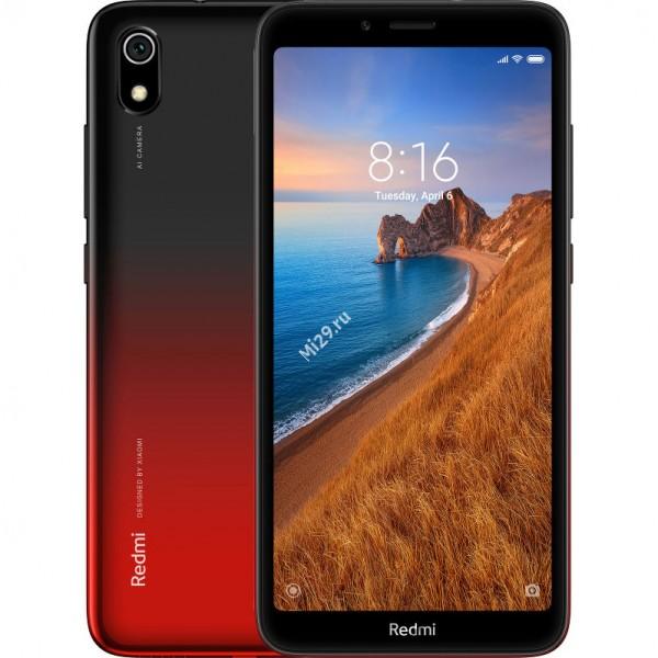 Смартфон Xiaomi Redmi 7A 2/16Gb красный