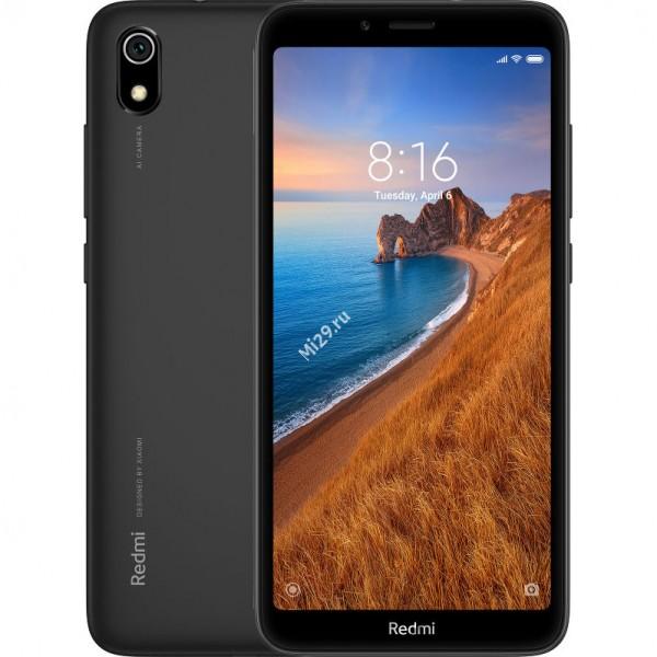 Смартфон Xiaomi Redmi 7A 2/32Gb черный