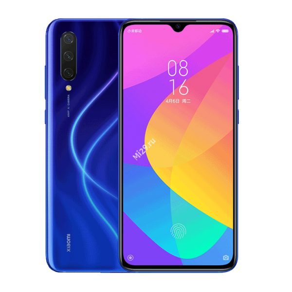 Смартфон Xiaomi Mi A3 4/64Gb синий