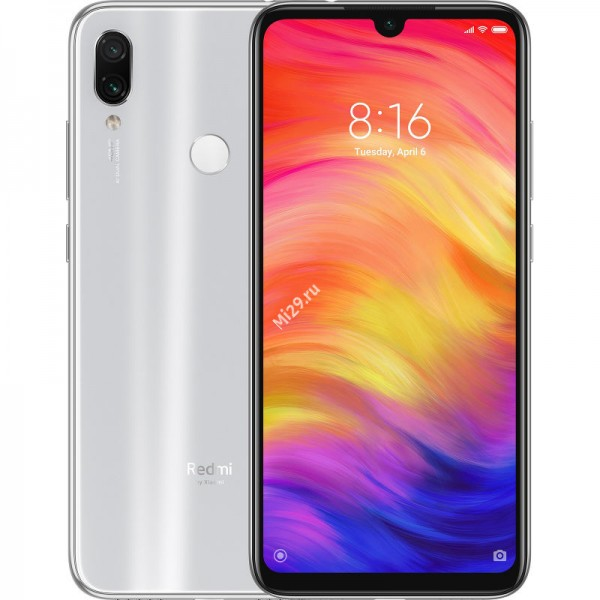 Смартфон Xiaomi Redmi Note 7 3/32Gb белый