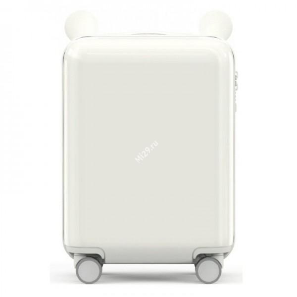 Детский чемодан Xiaomi Childish Little Ear Trolley Case белый