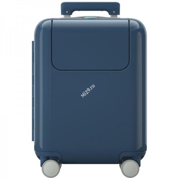 """Детский чемодан Xiaomi Rice Rabbit Suitcase 17"""" MTLGX01SM голубой"""