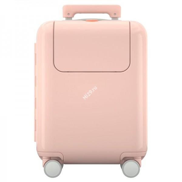 """Детский чемодан Xiaomi Rice Rabbit Suitcase 17"""" MTLGX01SM розовый"""