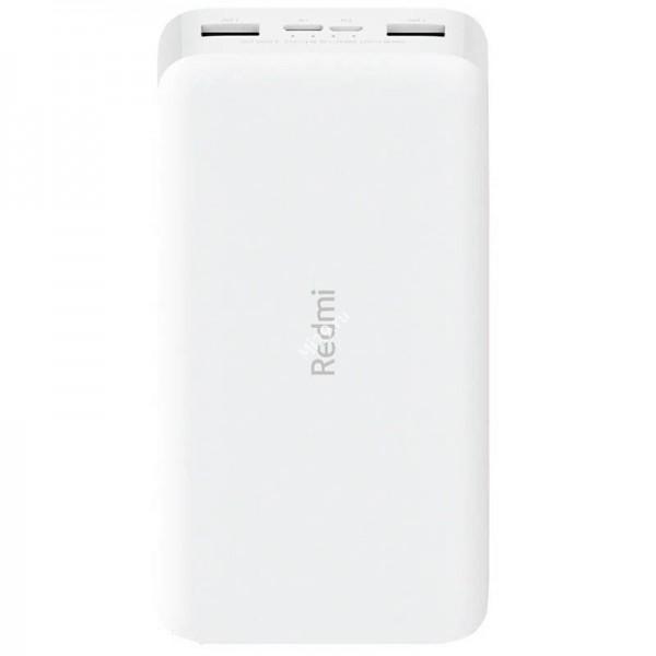 Внешний аккумулятор Xiaomi Redmi Power Bank Fast Charge 20000 mAh белый