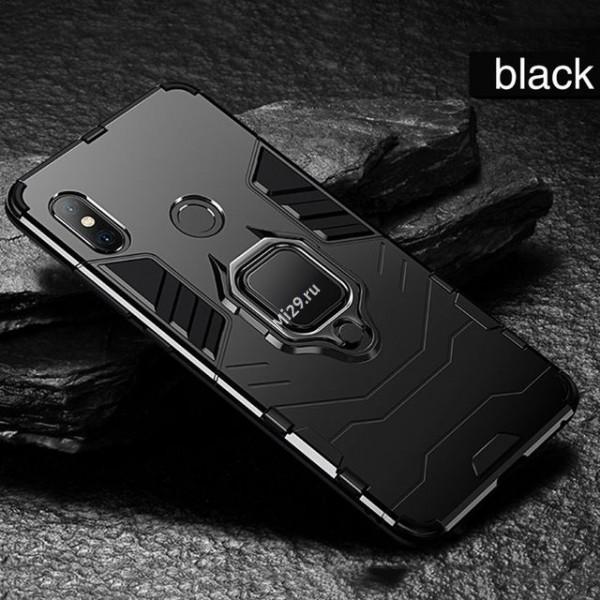 Чехол OTAO для Xiaomi Redmi Note 7 противоударный черный