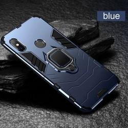 Чехол OTAO для Xiaomi Redmi Note 7 противоударный синий