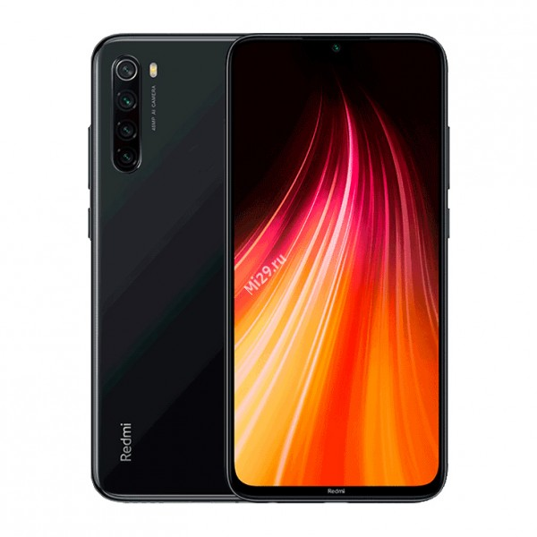 Смартфон Xiaomi Redmi Note 8 4/64Gb черный
