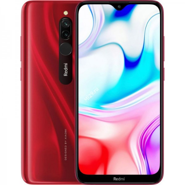 Смартфон Xiaomi Redmi 8 4/64Gb красный