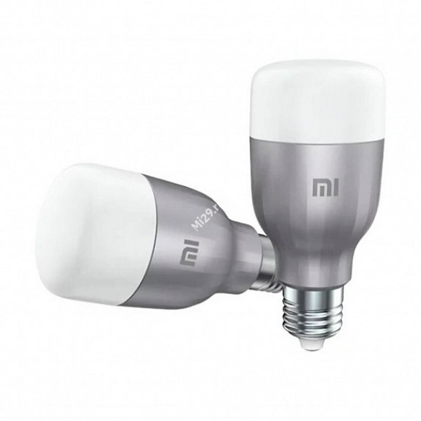 Лампа Mi LED Smart Bulb (White and Color) 2-Pack