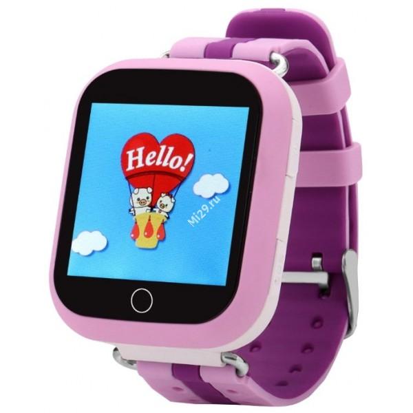 Детские часы Smart Baby Watch Q750 розовые