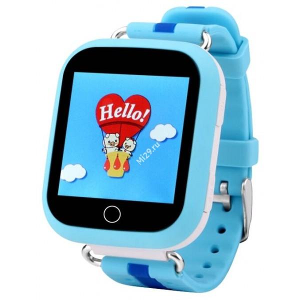 Детские часы Smart Baby Watch Q750 голубые