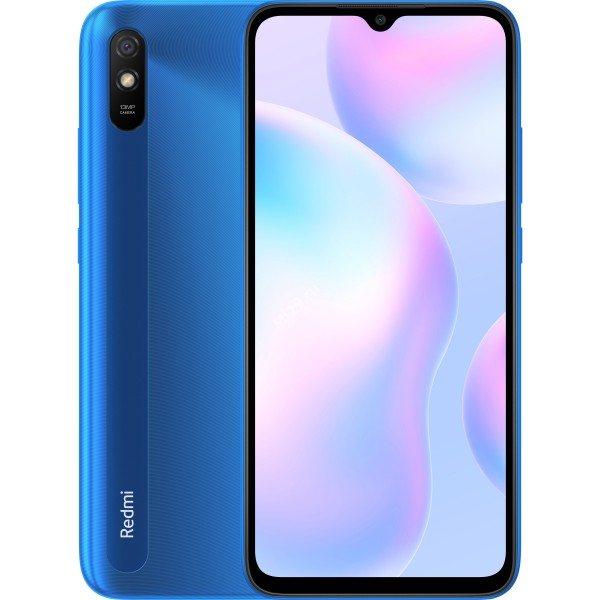 Смартфон Xiaomi Redmi 9A 2/32Gb голубой