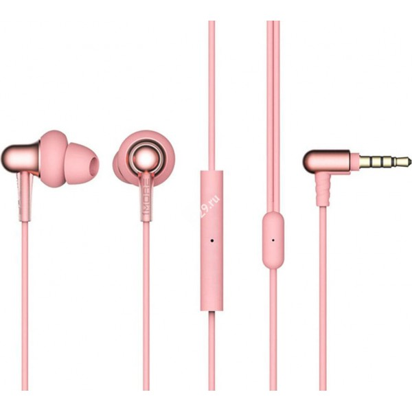 Наушники 1MORE Stylish In-Ear Headphones розовые
