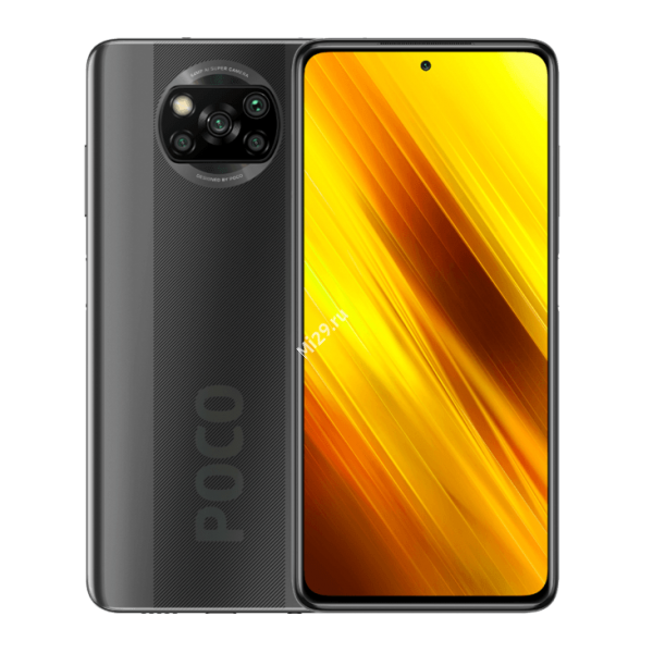 Смартфон Poco X3 NFC 6/128Gb серый
