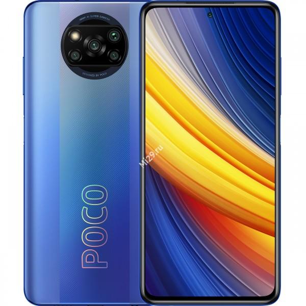 Смартфон Poco X3 Pro 8/256Gb синий иней
