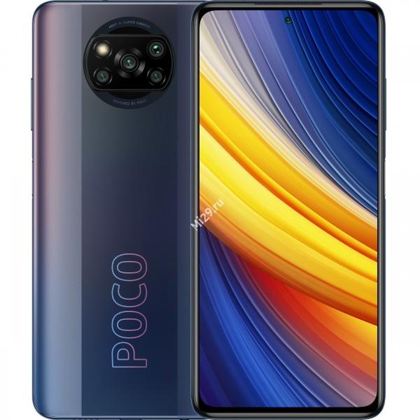 Смартфон Poco X3 Pro 8/256Gb черный фантом