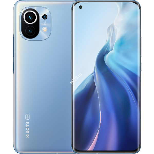 Смартфон Xiaomi Mi 11 8/256Gb лазурно-голубой