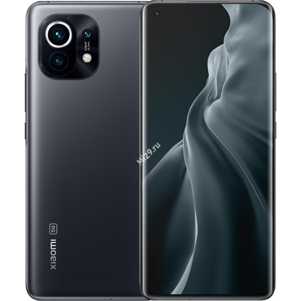 Смартфон Xiaomi Mi 11 8/256Gb полуночный серый