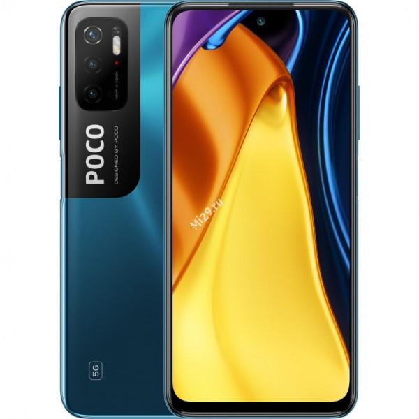 Смартфон Poco M3 Pro 6/128Gb синий