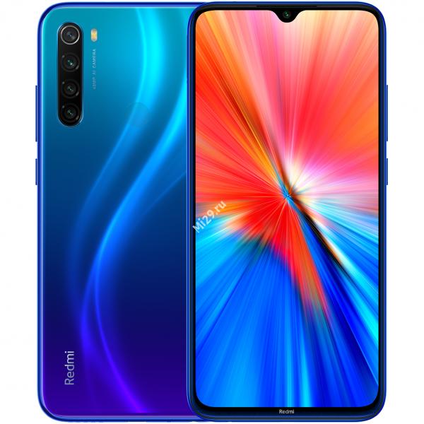 Смартфон Xiaomi Redmi Note 8 (2021) 4/64Gb синий