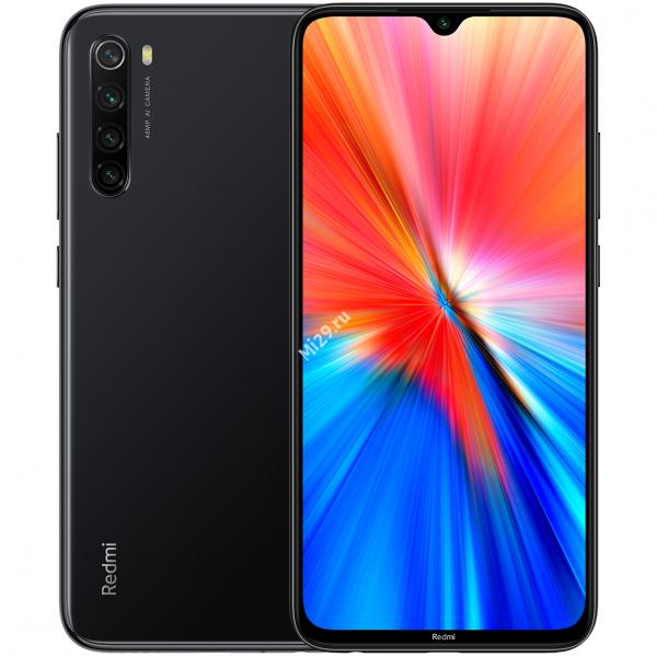 Смартфон Xiaomi Redmi Note 8 (2021) 4/64Gb черный