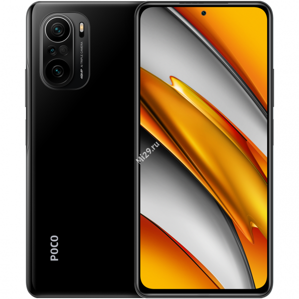 Смартфон Poco F3 6/128Gb черный
