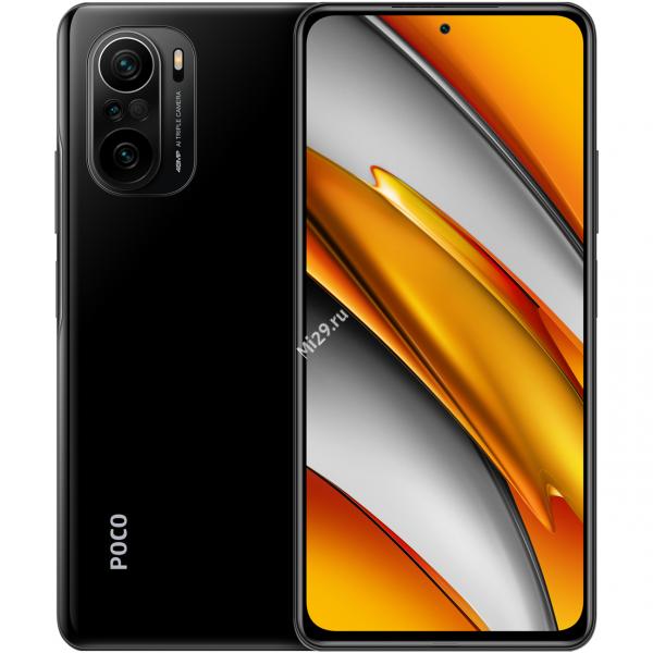 Смартфон Poco F3 8/256Gb черный
