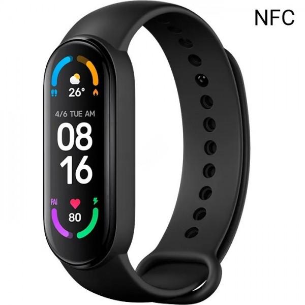 Фитнес трекер Mi Smart Band 6 NFC XMSH16HM (BHR4954GL)
